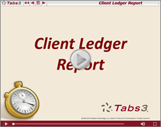 ClientLedgerReport