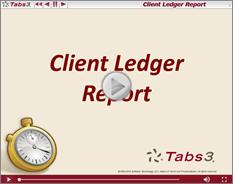 ClientLedgerReport