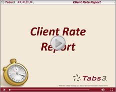 ClientRateReport