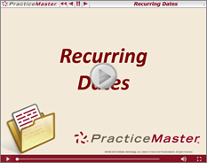 RecurringDates